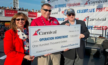 Carnival Freedom's Arrival In Galveston Marked