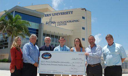 Blazing Mako Tournament & Festival Raises $27,000  for Marine Science Scholarships