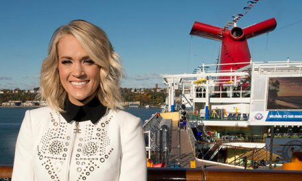 Carnival Vista's U.S. Arrival Celebrated With Shipboard Concert For Military Families By Seven-Time Grammy Award-Winning Country Music Superstar Carrie Underwood
