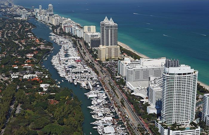 Diez súper yates que llamaron la atención en el 29no Yachts Miami Beach Annual