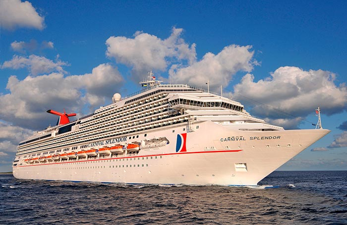 Carnival Splendor To Operate 14 Day Alaska Cruise Round-Trip From Long Beach In August 2018